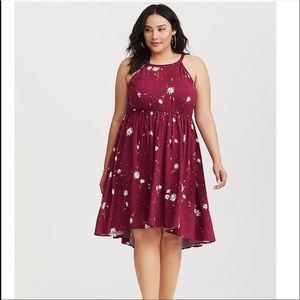 Floral dress from torrid size 2